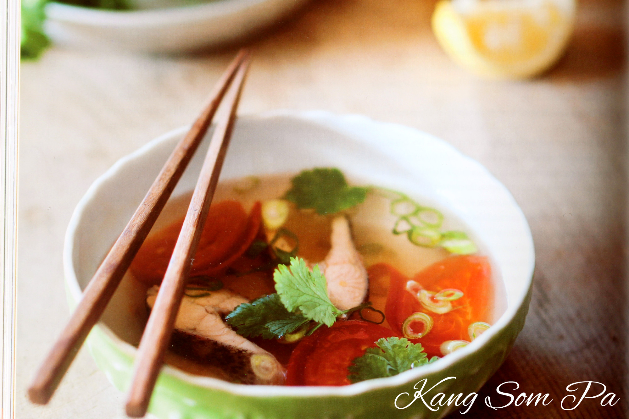 Kang Som Pa| Laotian fish soup