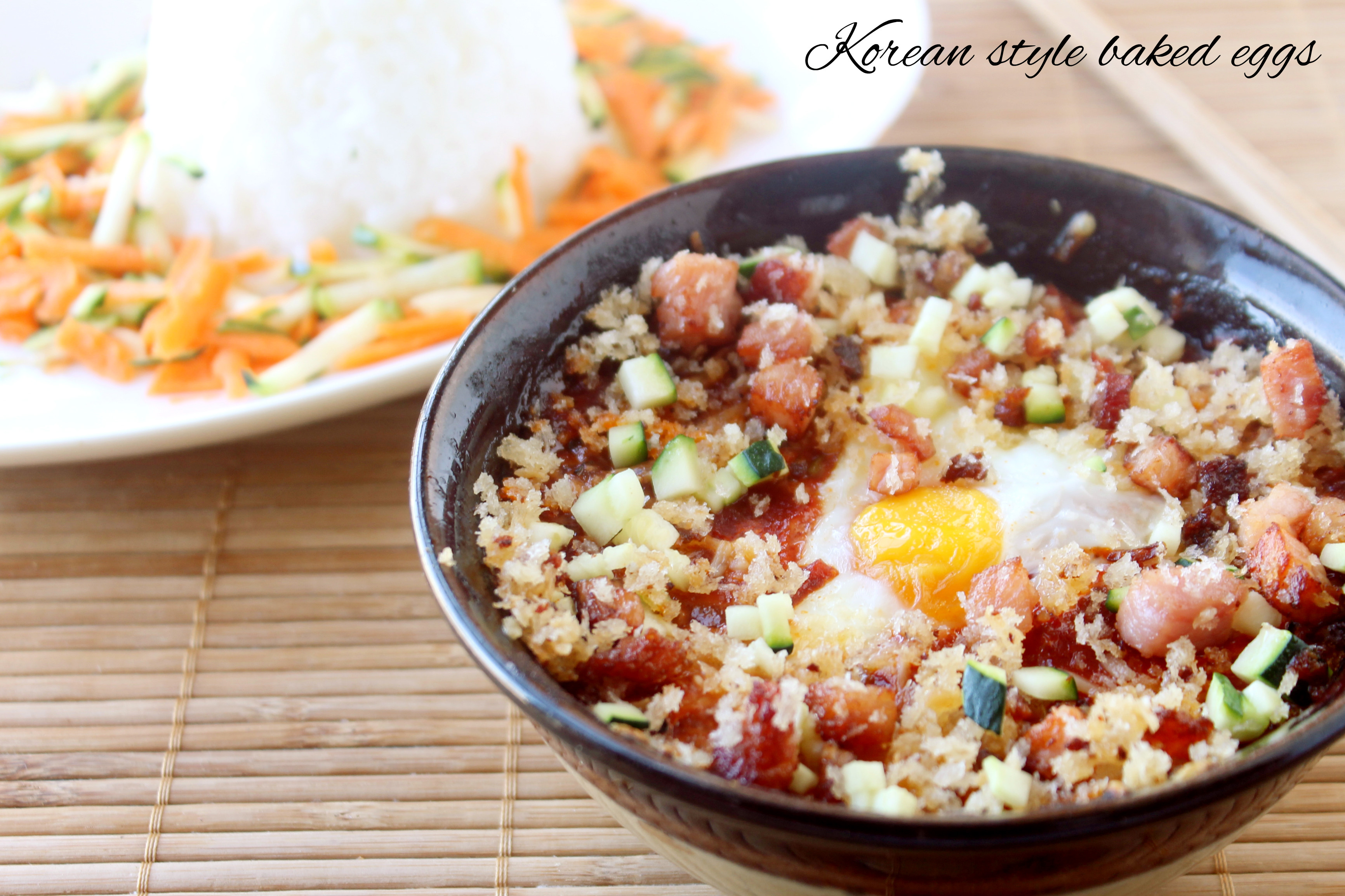 Korean  Baked Eggs