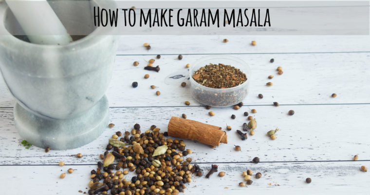 How to Make Garam Masala