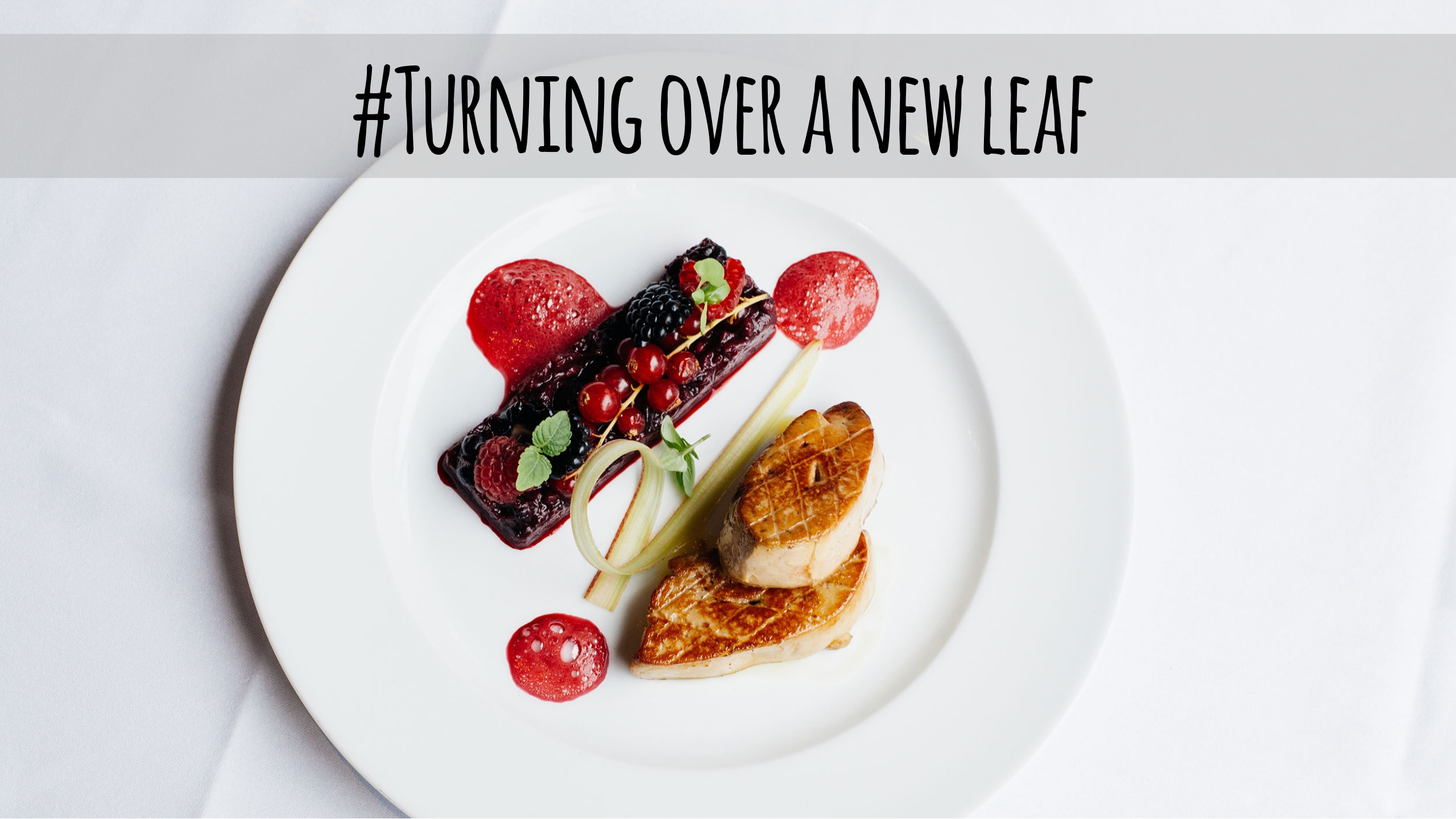 Morning tea thoughts | Turning over a new leaf